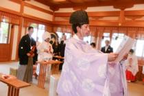 大石神社の挙式場です