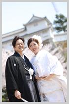 姫路城で撮影。