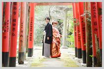 岩倉稲荷神社にて