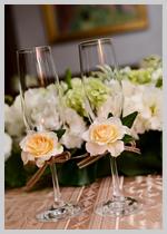 グラス装花